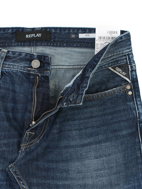 Replay MA950 Rob Authentic Blue Denim