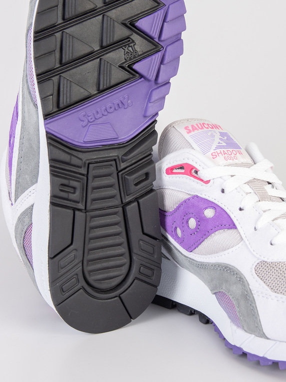 new style dcf1f 290f3 Saucony Shadow 6000 White