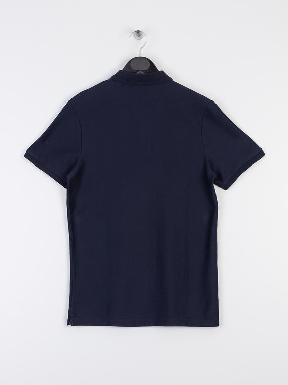 Scotch & Soda Chic Polo Navy