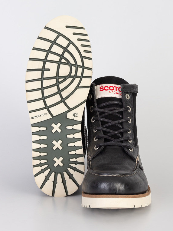 Scotch & Soda Levant Boot Black