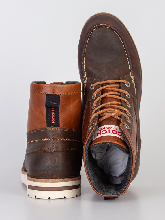 Scotch & Soda Levant Boot Brown