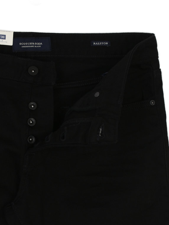 Scotch & Soda Ralston Stay Black Denim