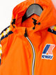 Kappa x K-Way Le Vrai Claude Banda Jacket Orange Thumbnail