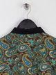 Pretty Green All Over Paisley Print Polo Multicolour Thumbnail