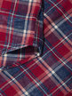 Replay Check Flannel Shirt Red Thumbnail