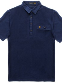 FKS0111 THE LESTER SS POLO 410 NAVY