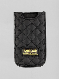 Barbour International Iphone Case Black