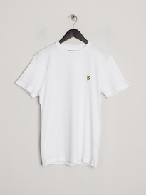 Lyle & Scott Short Sleeve CREW NECK T-SHIRT WHITE
