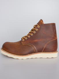 Red Wing Shoes 6 Inch Round Toe Copper