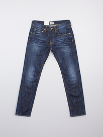 EDWIN ED-55 Relaxed Tapered Fit Denim Jeans Dark BLUE