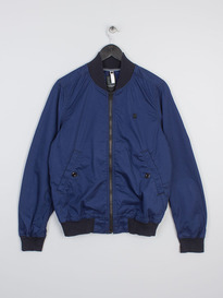 G-STAR RAW SHATTOR BOMBER IMPERIAL BLUE