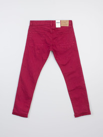 SCOTCH & SODA RALSTON GARMENT DYE MAROONED SLIM
