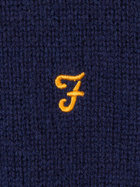 Farah The Rosecroft Jumper 412 True Navy