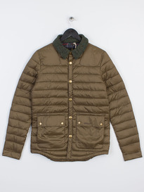 BARBOUR ROWE QUILTED JACKET OLIVE