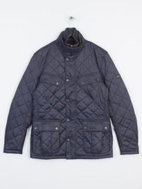 BARBOUR WINDSHIELD QUILTED JACKET NAVY