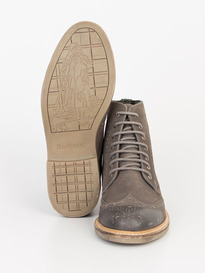 BARBOUR BELSAY BOOT DARK GREY