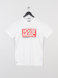 WEEKEND OFFENDER HOUSE T SHIRT WHITE