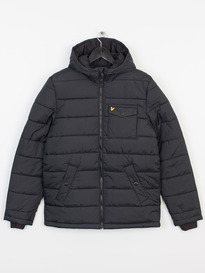LYLE & SCOTT WADDED PARKA JACKET 572 BLACK