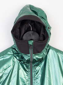 LUKE ON ONE DETACH HOOD TECH JACKET GREEN