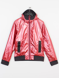 LUKE ON ONE DETACH HOOD TECH JACKET RED