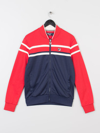 FILA NASO TRACK TOP CHINESE RED