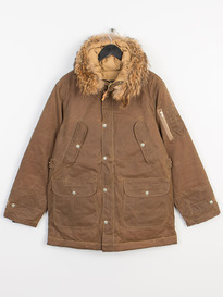 PENDLETON COYOTE FUR JACKET DARK TAN