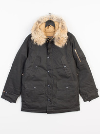 PENDLETON COYOTE FUR JACKET BLACK