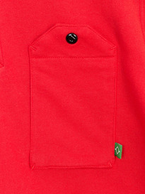 MA.STRUM DOUBLELOOP JERSEY POCKET POLO RED