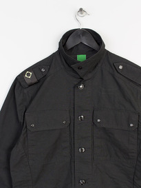 MA.STRUM OVERSHIRT JET BLACK