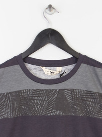 LEE STRIPE TEE MIDNIGHT