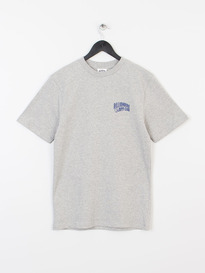 BILLIONAIRE BOYS CLUB SMALL ARCH LOGO TEE HEATHER GREY