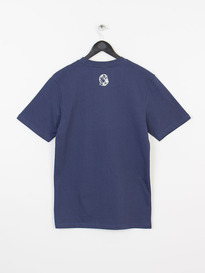 BILLIONAIRE BOYS CLUB SMALL ARCH LOGO TEE NAVY