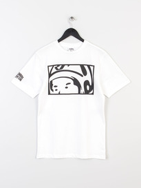 BILLIONAIRE BOYS CLUB LOOKING HELMET TEE WHITE