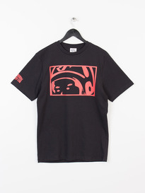 BILLIONAIRE BOYS CLUB LOOKING HELMET TEE BLACK