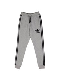 Adidas 3 Striped Track Pants Grey