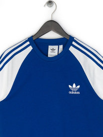 Adidas 3-Stripes T-Shirt Blue
