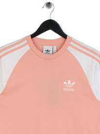 Adidas 3 Stripes T-Shirt Pink