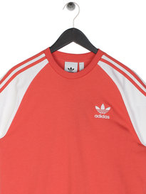 Adidas 3-Stripes T-Shirt Scarlet Red