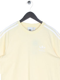 Adidas 3-Stripes T-Shirt Yellow