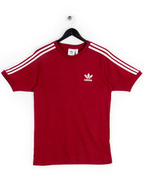 Adidas 3-Stripes T-shirt Maroon