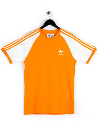 adidas 3-Stripes T-Shirt Orange