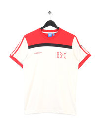 ADIDAS 83-C T-SHIRT RED