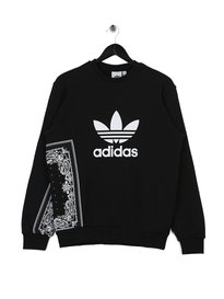 adidas Bandana Crew Neck Sweat Black