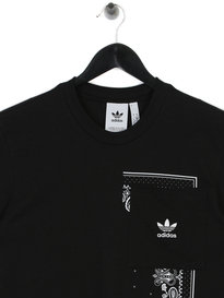 adidas Bandana Pocket T-Shirt Black
