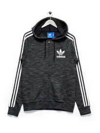 adidas California FT FZ Hooded Sweat Grey