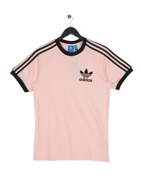 Adidas California Short Sleeve T-Shirt Pink