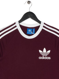 Adidas California T-Shirt Maroon