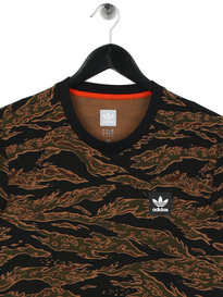 adidas Camo AOP T-Shirt Camo Brown