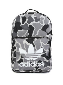 Adidas Classic Camo Backpack Bag Black