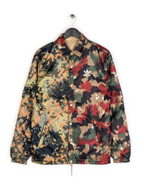 Adidas Pharrell Williams Coach Jacket Reversible Camo Brown